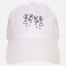Dancing Skeletons Baseball Baseball Cap
