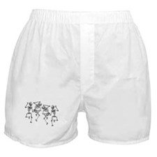 Dancing Skeletons Boxer Shorts