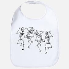 Dancing Skeletons Bib