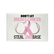 Don't Let Breast Cancer Steal 2nd Base Rectangle M