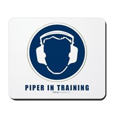 Piper in training Mousepad