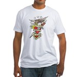 Live Free Or Die Fitted T-Shirt