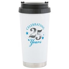 Celebrating 25 years Travel Mug