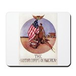 The Motor Corps of America Mousepad