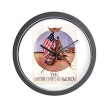The Motor Corps of America Wall Clock