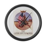 The Motor Corps of America Large Wall Clock