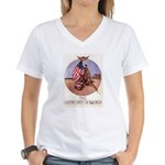 The Motor Corps of America Women's V-Neck T-Shirt