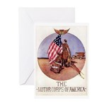 The Motor Corps of America Greeting Cards (Pk of 2