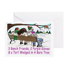 Cool Christmas puns Greeting Card