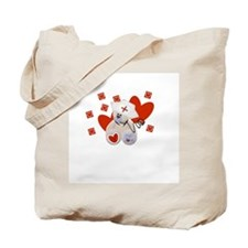 Nurse Made With Love Tote Bag