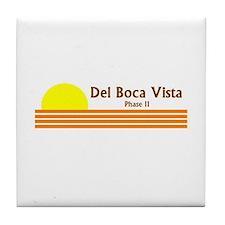 Cute Del boca vista Tile Coaster