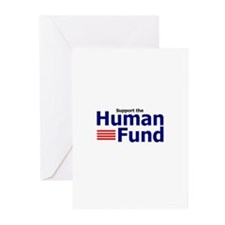 Funny The human fund Greeting Cards (Pk of 10)