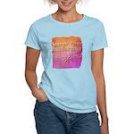 BEAT L.A. ! Organic Women's Fitted T-Shirt (dark)