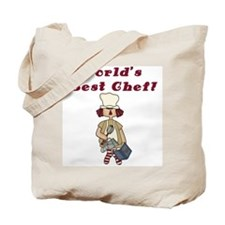 World's Best Chef Tote Bag