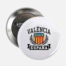 """Valencia Espana 2.25"""" Button"""