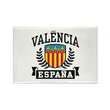 Valencia Espana Rectangle Magnet