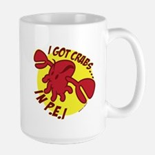 Crabs in PEI Large Mug