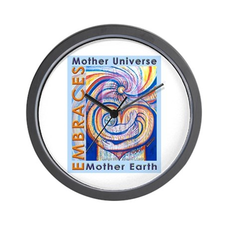 Mother Universe 2 Wall Clock