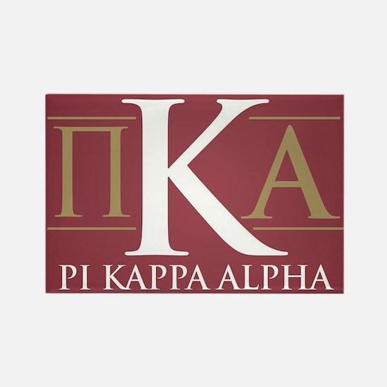 Pi Kappa Alpha Letters Rectangle Magnet