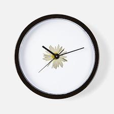 See it: The Daisy Wall Clock