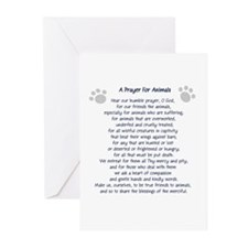 A Prayer For Animals Greeting Cards (Pk of 10)