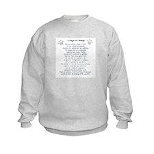 A Prayer For Animals Sweatshirt
