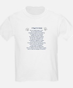 A Prayer For Animals Kids T-Shirt