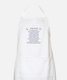 A Prayer For Animals BBQ Apron