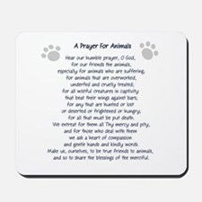 A Prayer For Animals Mousepad