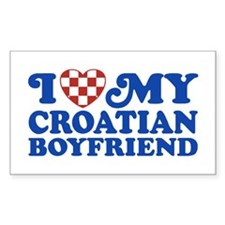 I Love My Croatian Boyfriend Decal