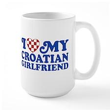 I Love My Croatian Girlfriend Mug