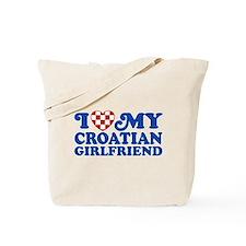 I Love My Croatian Girlfriend Tote Bag