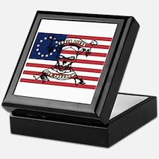 Their Lives, Our Freedom Keepsake Box