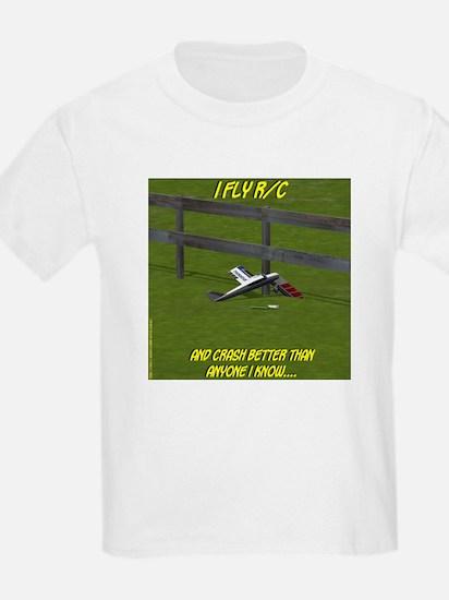 Crash Better - Kids T-Shirt