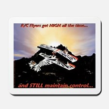 R/C Flyers get High - Mousepad