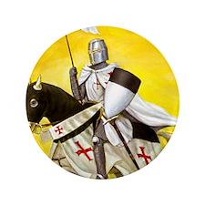 """Mounted Templar 3.5"""" Button"""