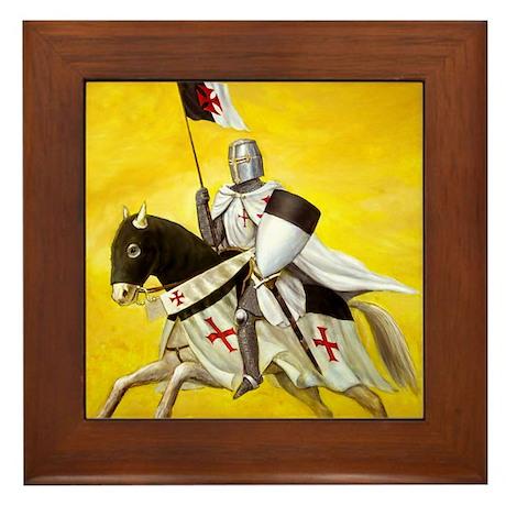 Mounted Templar Framed Tile