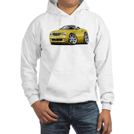 Crossfire Yellow Convertible Hooded Sweatshirt
