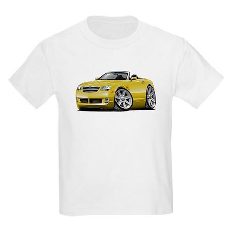 Crossfire Yellow Convertible Kids Light T-Shirt