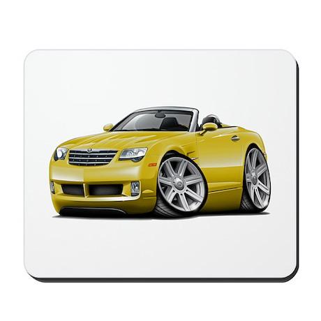 Crossfire Yellow Convertible Mousepad