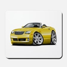 Crossfire Yellow Convertible Mousepad