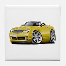 Crossfire Yellow Convertible Tile Coaster