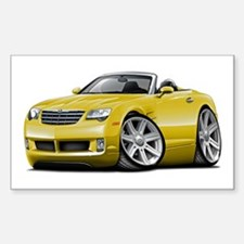Crossfire Yellow Convertible Decal