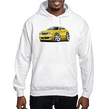 Crossfire Yellow Car Hoodie