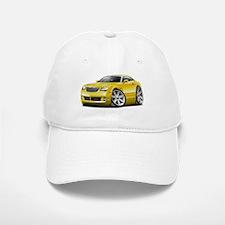 Crossfire Yellow Car Baseball Baseball Cap