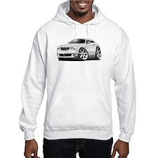 Crossfire White Car Hoodie