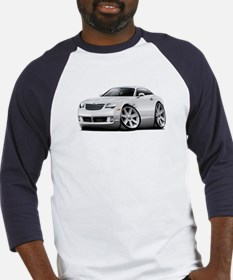 Crossfire White Car Baseball Jersey