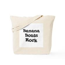 Banana Boats Rock Tote Bag