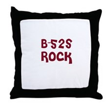 B-52s Rock Throw Pillow