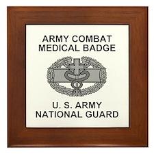 National Guard <BR>Combat Medic Framed Tile